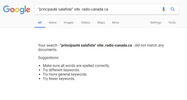 principauté salafiste-résultats google-rad-can