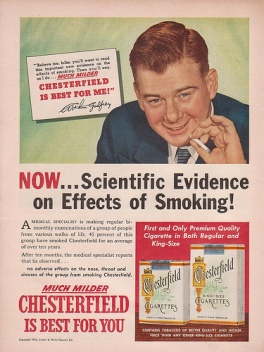 scientific evidence smoking