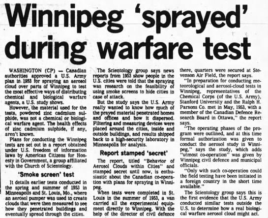 newspaper clip winnipeg