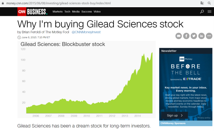 gilead-cnn-dream-stock